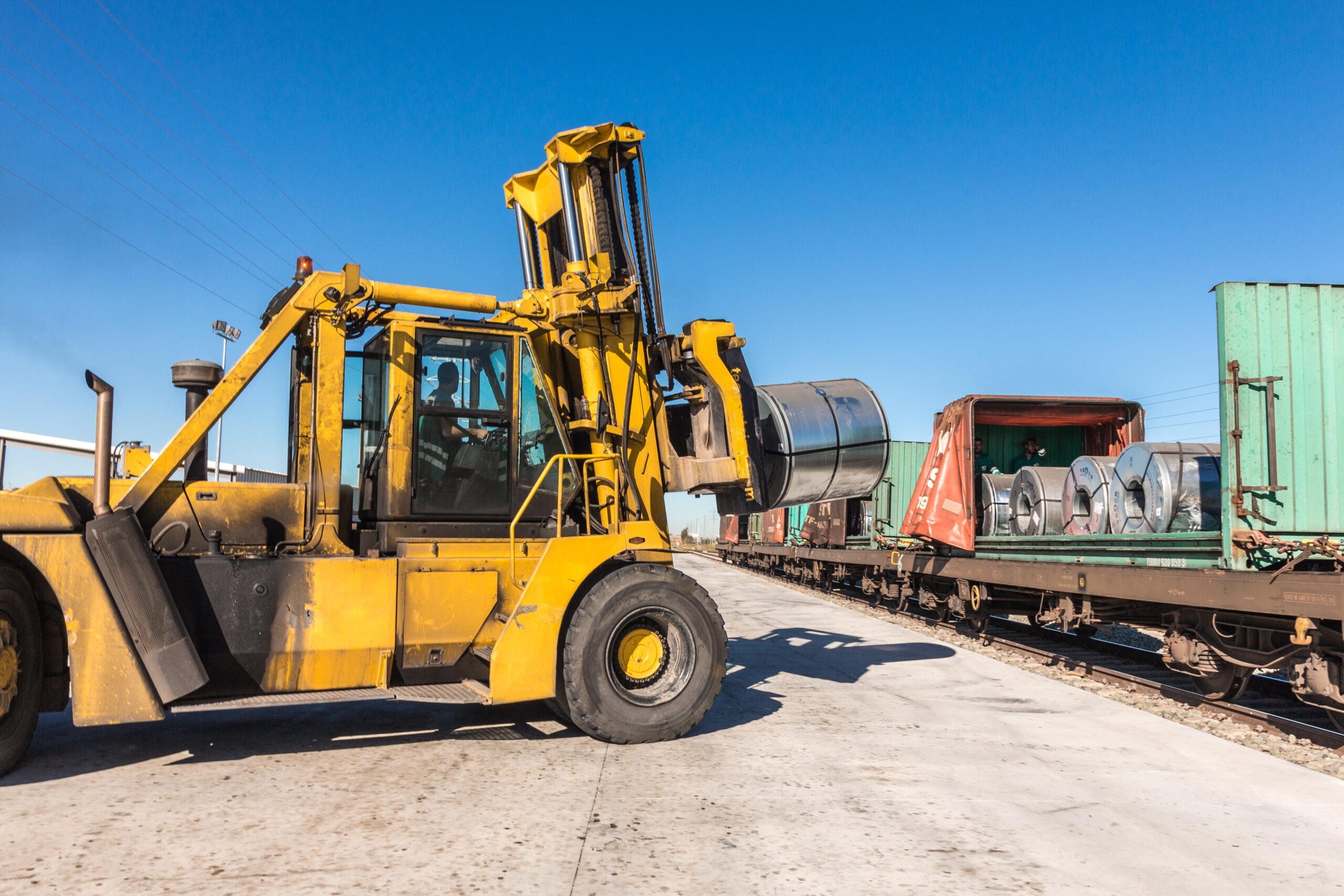 El ramal ferroviario de Aranda  se consolida como una pieza clave para la industria local