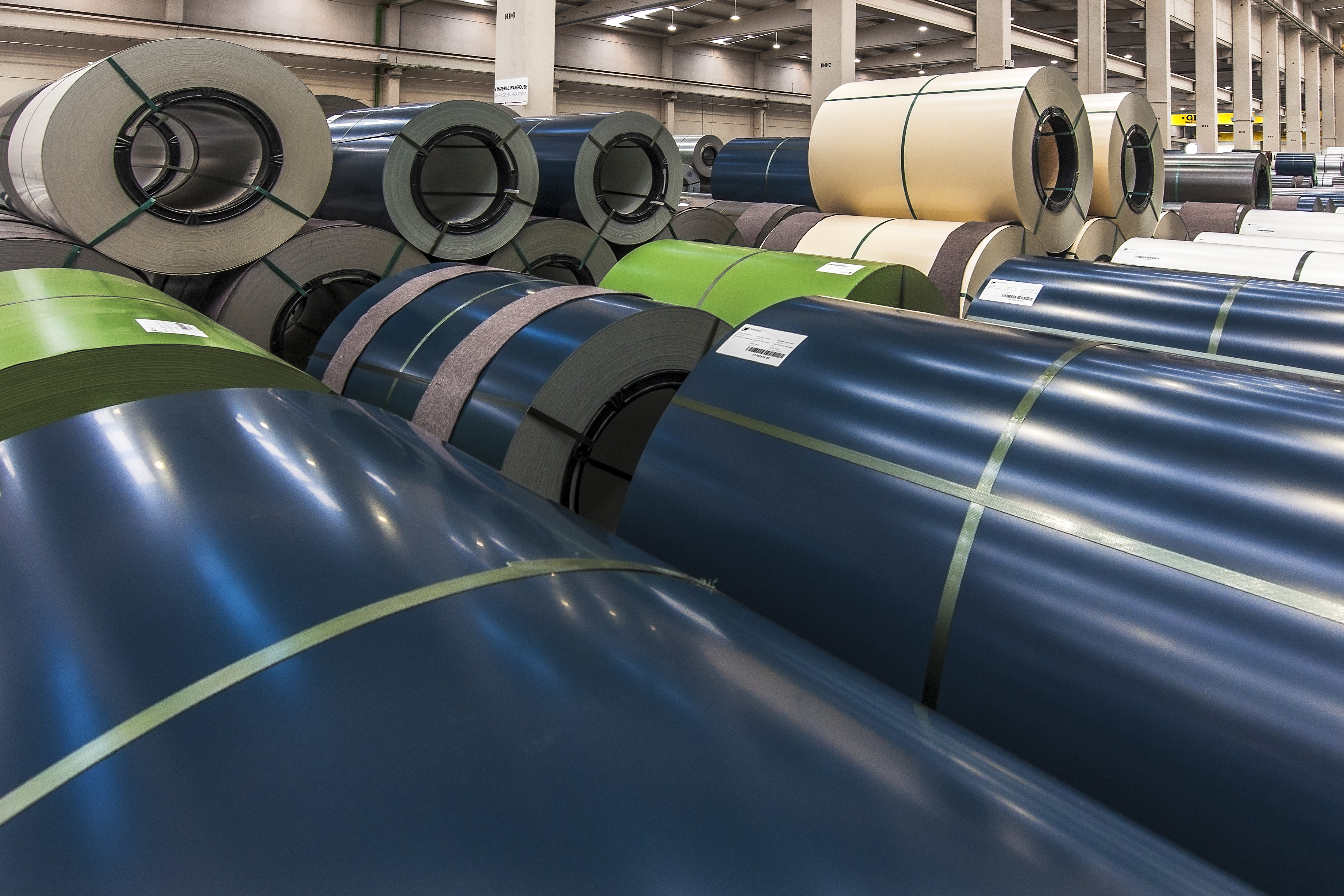 COATED STEEL PLANTS, FULLY  OPERATIONAL FOR CLIENTS